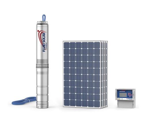 """4"""" ponorná článková čerpadla na solární energii"""