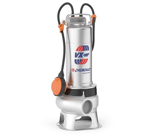 """VX-MF Ponorná elektrická čerpadla """"VORTEX"""" pro odpadní vody"""
